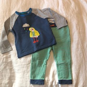 Baby Boden 2 piece outfit (18-24m)